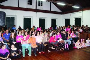 Campanha Outubro Rosa o dia da sua mamografia anual